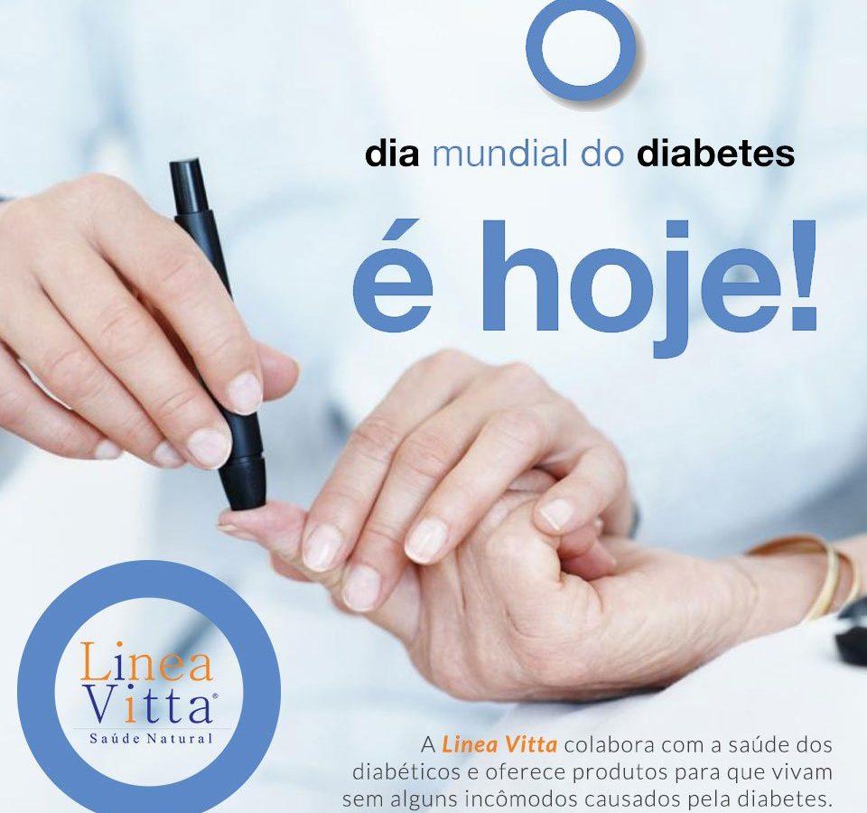 DIA MUNDIAL DO DIABETES É HOJE!