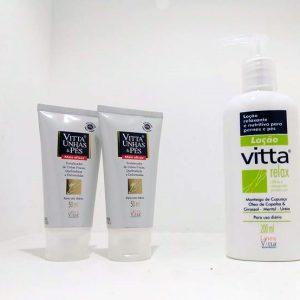 Compre 2 Vitta Unhas & Pés e Ganhe um Vitta Relax