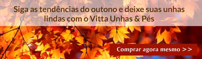 Siga as tendências do outono e deixe suas unhas lindas com o Vitta Unhas & Pés