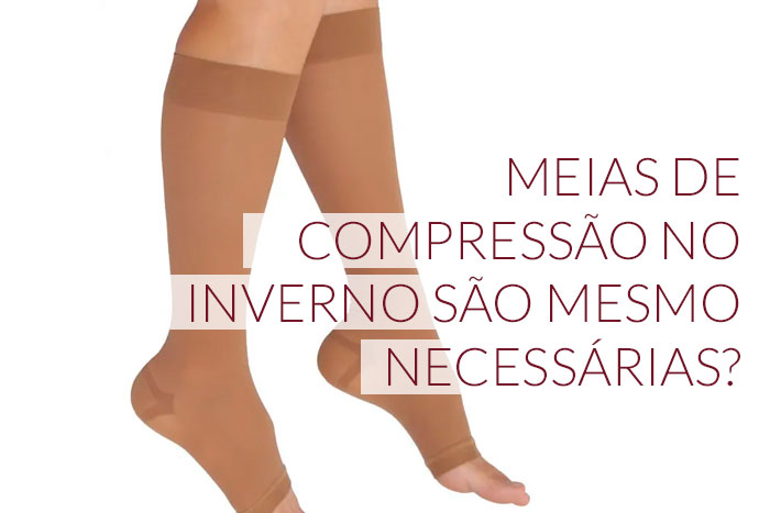 como usar meias de compressão