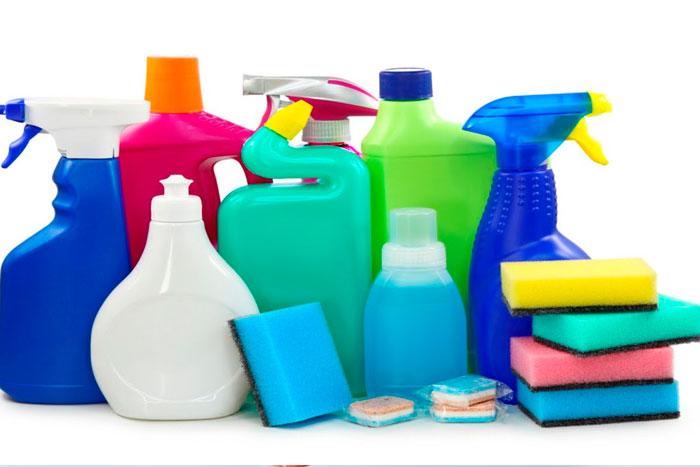 5. Cuidado com os produtos químicos!