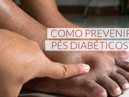 Como prevenir pés diabéticos?